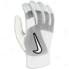 Nike Imara Batting Gloves - Womens - White/white