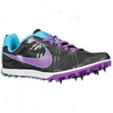 Nike Jana Star Xc 5 - Womens - Black/chlorine Blue/bright Violet
