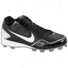 Nike Keystone 3/4 - Mens - Black/hwite/metallic Silver