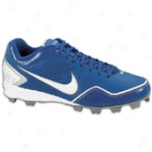 Nike Keystone Low Bg - Big Kids - Deep Blue/white/metallic Silver