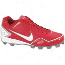 Nike Keystone Low - Mens - Varsity Red/white/metallic Silver