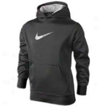 Nike Ko Hoodie - Big Kids - Black/neutral Grey