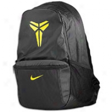 Nike Kobe Baller Backpack - Black/black/varsity Maize