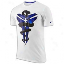 Nike Kobe Black Mamba Case T-shirt - Mens - White/light Concord