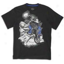 Nike Kobbe Hero T-shirt - Big Kids - Boack/light Concord