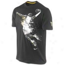 Nike Kobe On Fire T-shirt - Mens - Black/del Sol