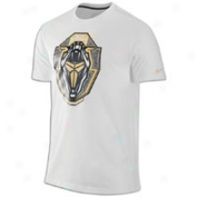 Nike Kobe Premium Tech Crest T-shirt - Mens - White/gold