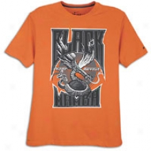 Nike Kobe Rocks T-shirt - Mens - Orange Ember/midnight Fog