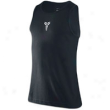 Nike Kobe Tank - Mens - Black/white