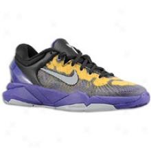 Nike Kobe Vii - Big Kids - Court Purple/wolf Grey/tour Yellow
