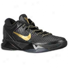 Nike Kobe Vii Elite - Mens - Black/metallic Gold