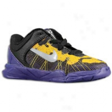 Nike Kibe Vii - Toddlers - Court Purple/wolf Grey/tour Yellow