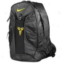 Nike Kobe Vii Ultimatum Gear Backpack - Black/black/varsity Maize