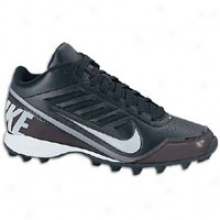 Nike Land Shark 3/4 - Mens - Black/metallic Silver/tornado