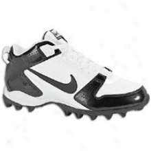 Nike Land Shark Legacy Mid - Mens - White/black