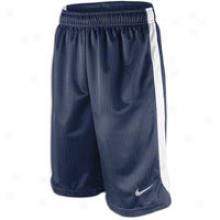 Nike Layup Short - Big Kids - Obsidian/white