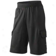 Nike Lebron 6th Man Cargo Short - Mens - Black/anthracite