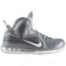 Nike Lebron 9 - Mens - Cool rGey/white/metallic Silver
