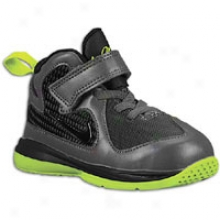 Nike Lebron 9 - Todders - Anthracite/black/volt