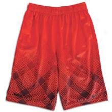 Nike Lebron All Over Print Short - Bg Kids - Red/black
