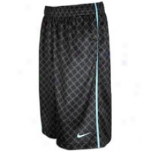 Nike Lebron All-over Short - Mens - Black/cannon