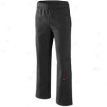 Nike Lebron Chosen Fleece Pant - Full Kids - Black/sport Red