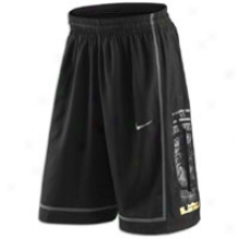 Nike Lebron Gametime Short - Mens - Black/black/anthracite/anthracite