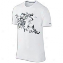 Nike Lebron Heraldry Tails T-shirt - Mens - White/cool Grey