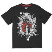 Nike Lebron Hero T-shirt - Big Kids - Black