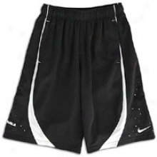 Nike Lebron King Short - Big Kids - Black/white