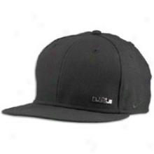 Nike Lebron Logo Ingot Snap Cap - Mens - Black/metallic Silver