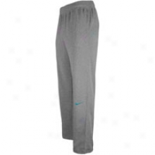 Nike Lebron Phantom Knit Pant - Mens - Darkness Grey Heather/green Abyss