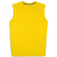 Nike Legend Dri-fit S/l T-shirt - Mens - Varsity Maize