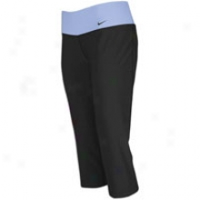 Nike Legend Slim Poly Capri-  Womens - Black/black