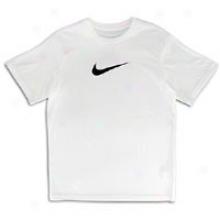 Nike Legend S/s T-shirt - Big Kids - White/black