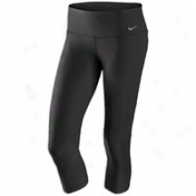 Nike Legend Tight Capri - Womens - Black/black