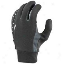 Nike Lightweight Run Gloves - Mens - Black/charcoal