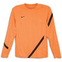 Nike Long Sleeve Training Top I - Mens - Total Orange/black