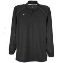Nike Ls/ Training Cap - Mens - Black/silver/silver