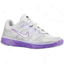 Nike Lunar Always+ Tr - Womens - Neutral Grey/wolf Grey/pure Purple