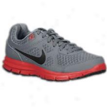 Nike Lunar Forever - Big Kids - Cool Grey/univwrsity Red/black