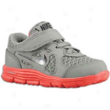 Nike Lunar Forever - Toddlers - Cool Grey/university Red/black