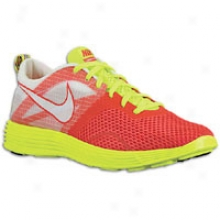 Nike Lunar Montreal - Mens - Action Red/summit White/volt