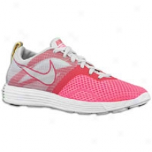 Nike Lunar Montreal - Womens - Pink Flash/pure Platinum/voltage Cherry