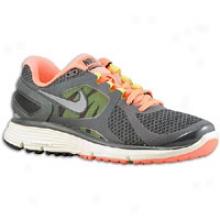 Nike Lunareclipse + 2 - Womens - Anth5acite/bright Mango/cashmere/reflect Silver