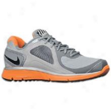 Nike Lunareclipse + Shield - Mens - Stealth/black/total Orange/cool Grey
