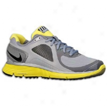 Nike Lunareclipse + Shield - Womens - Stealth/black/sonic Yellow/cool Grrey