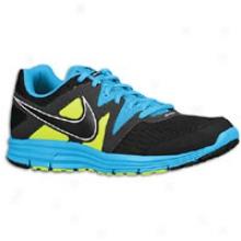 Nike Lunarfly + 3 - Mens - Black/blue Glow/volt