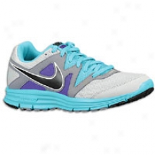 Nike Lunarfly + 3 - Womens - Pure Platinum/tide Puddle Blue/pure Purple/blczk