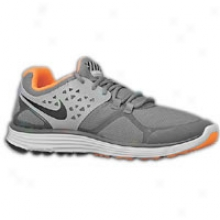 Nike Lunarswifft + 3 Shield - Mens - Dark Grey/black/reflect Silver/total Orange
